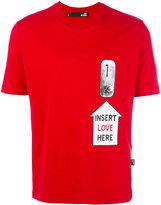 Love Moschino Insert Love T-shirt - men - Cotton - M