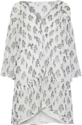 A.L.C. Evelyn Printed Silk-georgette Mini Dress
