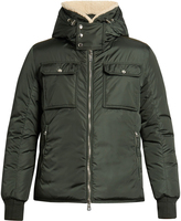 Moncler Darwin shearling-collar down coat