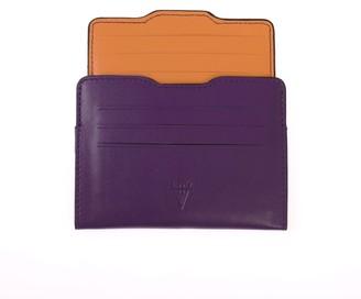 Hiva Atelier Double Card Holder Purple & Orange