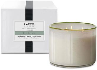 Lafco Inc. 3-Wick Candle - Feu De Bois white/gray