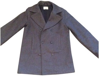 Armani Junior Grey Cotton Jackets & Coats
