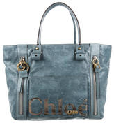 Chloé Embossed Eclipse Tote