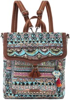 The Sak Sakroots Print Canvas Colette Convertible Backpack