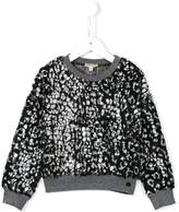 Kenzo 'Abba' leopard print sweatshirt