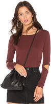 LAmade Ryan Top in Burgundy. - size L (also in M,XS)