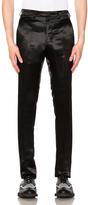 Raf Simons Satin Slim Pants in Black.
