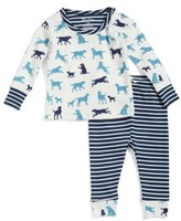 Hatley Infant Boy's Organic Cotton Fitted Two-Piece Pajamas