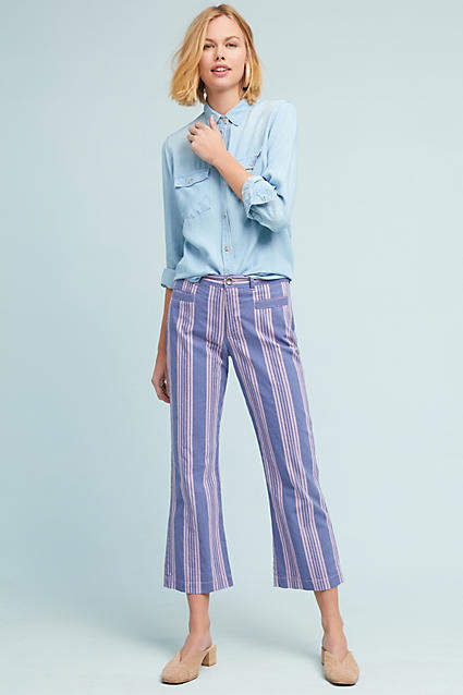 MiH Jeans Cropped Marrakesh Pants