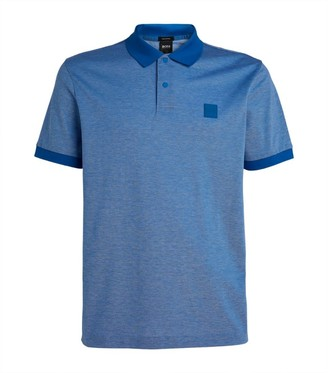 BOSS Cotton Logo Polo Shirt