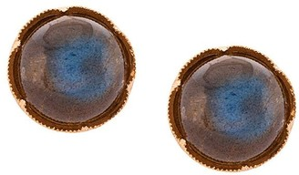 Irene Neuwirth 18kt Rose Gold Labradorite Stud Earrings