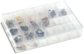 Container Store 24-Compartment Unbreakable Box Clear