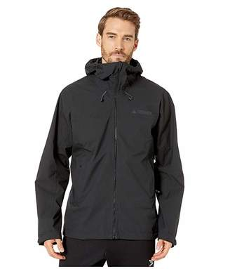 adidas Outdoor Outdoor Swift Rain Jacket (Black) Men's Coat