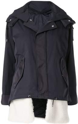 GUILD PRIME hooded military jacket