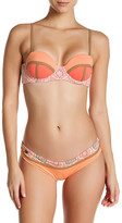 Maaji Cantaloupe Timbers Cheeky Reversible Bikini Bottom