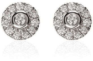Dana Rebecca Designs Lauren Joy 14K white-gold diamond stud earrings