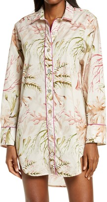 The Lazy Poet Sissy Tropical Cotton Nightshirt