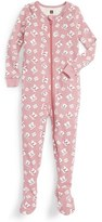Tea Collection Infant Girl's Geta Fitted One-Piece Pajamas