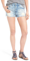 Lovers + Friends Jack High Rise Destroyed Denim Short