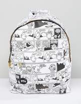 Mi-Pac x Mr.Men Vintage Strips Backpack