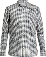 Kolor Checked and flock cotton shirt