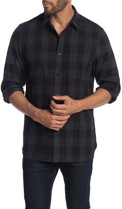 Calvin Klein Buffalo Plaid Flannel Shirt
