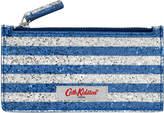 Cath Kidston Painted Glitter Long Card Holder Zip Purse