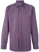 Brioni plaid shirt - men - Cotton - XL