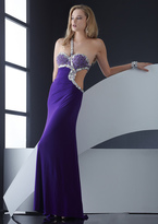 Jasz Couture - 4509 Dress in Purple