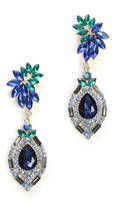 Adia Kibur Jewel Tone Clip Earrings