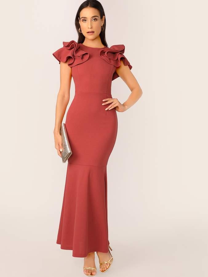 b01b281e Fishtail Hem Dress - ShopStyle