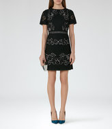 Reiss Tinley Lace Dress