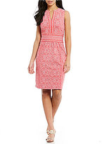 J.Mclaughlin J. McLaughlin Lola Split V-Neck Dress