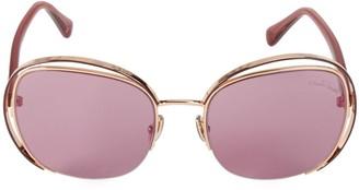 Roberto Cavalli 57MM Round Sunglasses