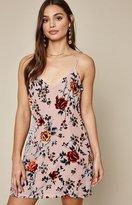 La Hearts Burnout Slip Dress