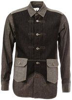 Comme des Garcons patchwork denim shirt - men - Cotton - S