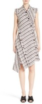 Proenza Schouler Women's Asymmetrical Tweed Dress