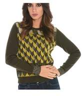 Suoli Women's Green Wool Sweater.