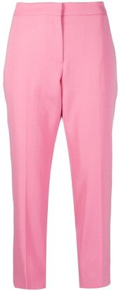 Alexander McQueen Cropped Straight-Leg Trousers