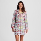 Button up sleep shirt shopstyle for Womens christmas flannel shirt
