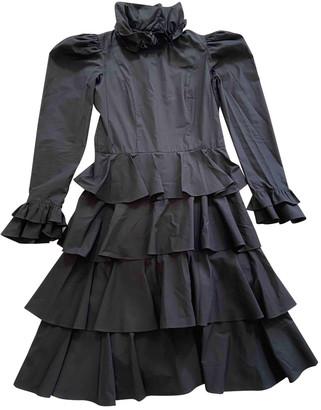 Batsheva Black Cotton Dresses