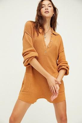 Fp Beach Picnic Sweater Romper