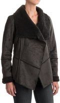 Prana Townie Jacket - Faux Suede (For Women)