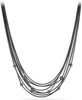 David Yurman Midnight Mélange Chain Necklace with Diamond Beads