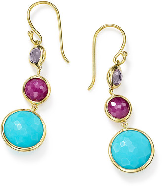 Ippolita 18k Lollipop® Small Three-Stone Drop Earrings