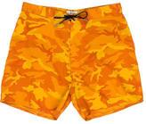 Saint Laurent Camouflage Print Swim Shorts w/ Tags