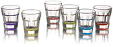 Jay Import Breve Multicolored Shot Glasses - Set of 6