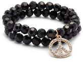 Saks Fifth Avenue Peace Charmed Slip-On Bracelet
