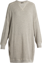 R 13 X-Oversized cotton-jersey sweatshirt