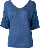 Diesel V neck flared top